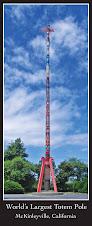 McKinleyville Totem Pole Postcard