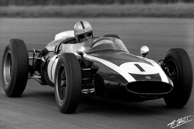 GP da Inglaterra de F1, Silverstone, 1960 - continental-circus.blogspot.com