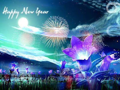beautiful pics of  new year greeting cards