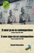 El amor ya no es contemporáneo,.El amor sigue sin ser contemporáneo,