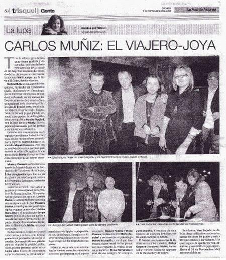 CARLOS MUÑIZ POR REGINA BUITRAGO