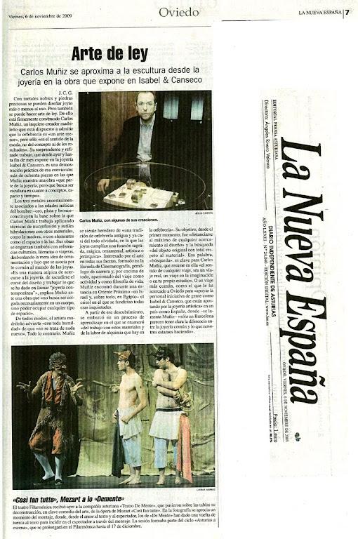 LA NUEVA ESPAÑA:CARLOS MUÑIZ