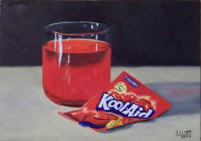 glass of Kool aid