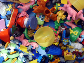 Where Kinder Surprise toys go to die: seen at the chocolate museum