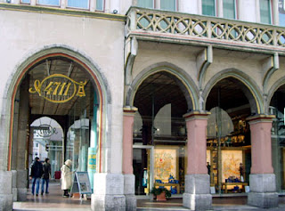 The 4711 perfume shop at Glockengasse, Cologne