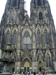 Cologne Cathedral's two towers