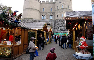 Christmas market at Rudolplatz