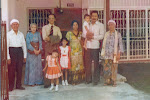 With my parents, my wife Azizah, Abang  Muhammad and Kak Asbi Rohani - 1978