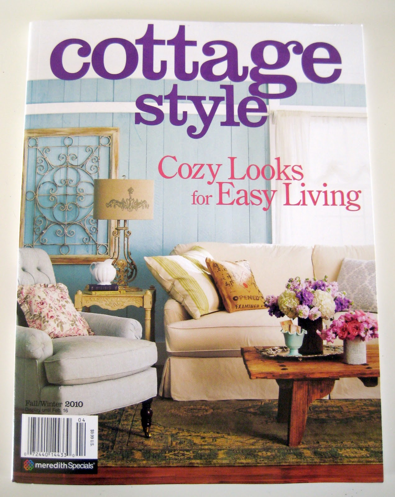 Cottage living magazine 2017 grasscloth wallpaper Home and cottage magazine