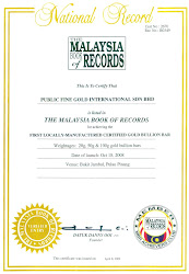 Pengiktirafan Malaysian Book of Records