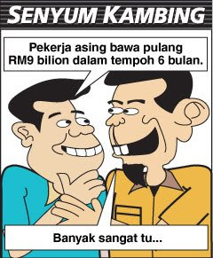 Ramainya Pekerja Asing Kat Malaysia