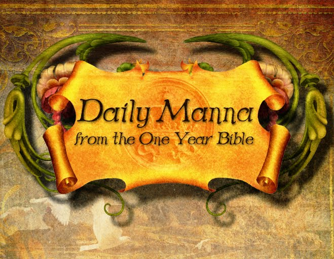 Daily Manna From the One Year Bible