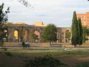 il sito archeologico dell'Acquedotto Alessandrino