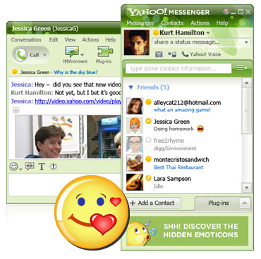 how to add chat room in yahoo messenger 11.5