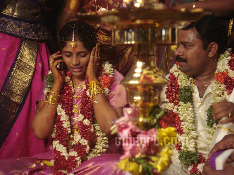 Vijay TV Gopinath Marriage Stills  Neeya Naana Gopinath Wedding Photos