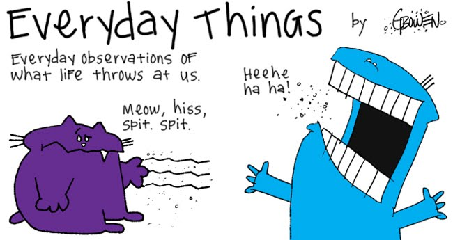 Everyday Things from CartoonNoise