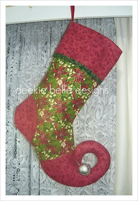 funky christmas stocking