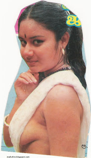 South Indian Serial And Cine Actress Blouseless Mallu Masla