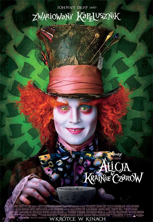 Alicja w Krainie Czar�w / Alice In Wonderland (2010)PL.DVDRiP.XViD-ER