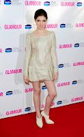 Anna Kendrick little cream dress