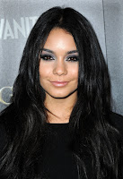 Vanessa Hudgens black dress