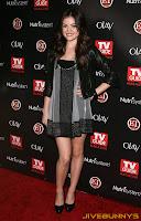 Lucy Hale in her little black dress