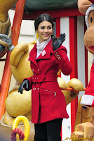 Victoria Justice red coat