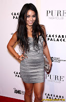 Vanessa Hudgens Celebrates her birthday at Pure Nightclub in Las Vegas