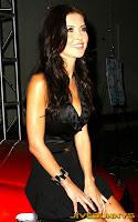Audrina Patridge in little black dress