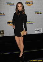 Eliza Dushku in little black dress
