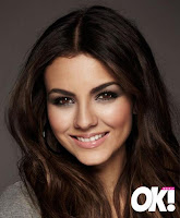 Victoria Justice OK magazine photo shoot
