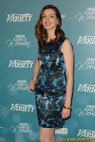 Anne Hathaway Variety's 2nd Annual Power Of Women Luncheon at the Beverly Hills Hotel