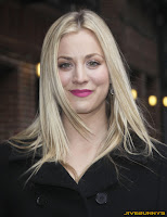 Kaley Cuoco The Late Show with David Letterman