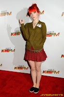 Hayley Williams KIIS FM's Jingle Ball At Nokia Theatre in Los Angeles