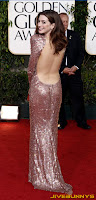 Anne Hatherway The Golden Globe Awards