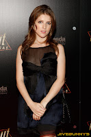 Anna Kendrick Launch party for the video game Fallout New Vegas at the Rain Nightclub