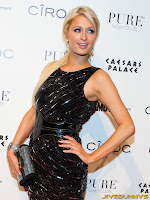 Paris Hilton at Pure Nightclub in Las Vegas