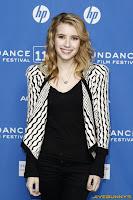 Emma Roberts Homework Premiere at Sundance Film Festival