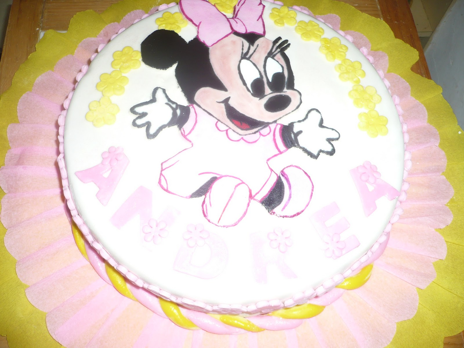 Torta Minnie Mouse