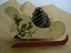 Ambientaciones y decoracion for Trineo madera decoracion