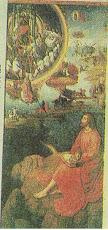 San Juan escribiendo el Apocalipsís