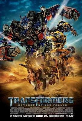 Transformers 2 Revenge of the Fallen Movie Poster