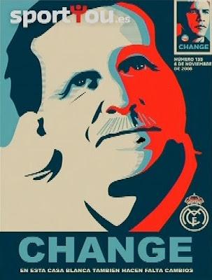 Schuster en la portada de Sportyou que demanda un cambio de entrenador al igual que el sucedido con Obama