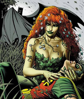 poison ivy batman cartoon. poison ivy villain cartoon.