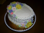 Wilton Basket Weave Cake