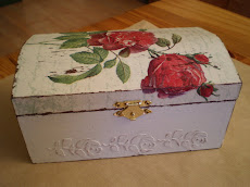 Tutorial - Shabby chic kutija