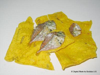 Fish cracker - Keropok Ikan from Padang Indonesia