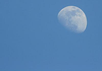 Daylight Moon at Raub Malaysia
