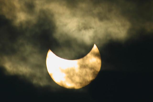 Solar eclipse at Raub, Malaysia
