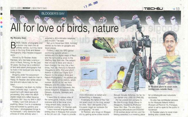 New Straits Time - Tech&U - Blogger's Say